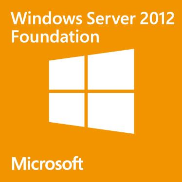 MS WINDOWS SVR 2012 Foundation CZ R2 64bit, 15users, vč.média - k serverom HAL3000